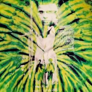 Rucking fotten fight club tie dye t (RARE)